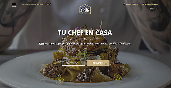 cuisine and private chef in Girona